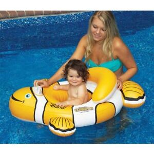 NEW!  Baby Clownfish Nemo Baby Seat for the Pool