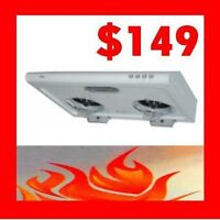 Crown Range Hood 2015 Promotion…from $149 !!!