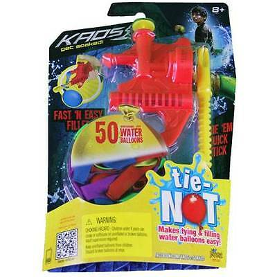 Tie Not Filler with 50 balloons Water Balloons Outdoors Fun By Tie-Not on Rummage