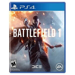 battlefield 1 for ps4 like new retails for 79.99 Peterborough Peterborough Area image 1