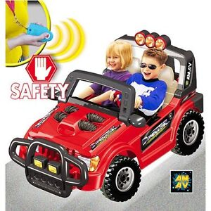 Dominator Power Rider with Parental Safety Remote Control