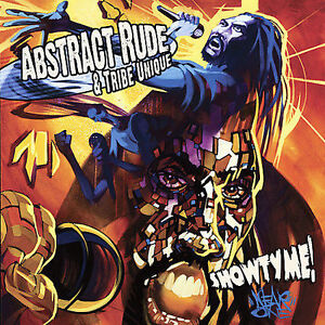 Abstract-Rude-and-Tribe-Unique-Showtyme-New-and-Factory-Sealed-CD