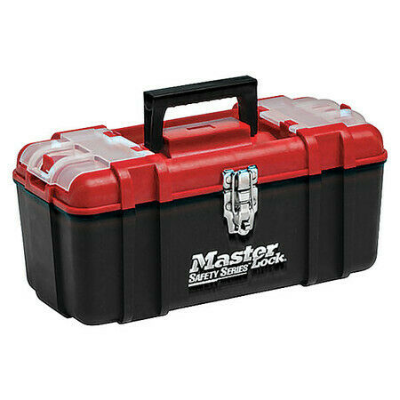 Master Lock S1017 Lockout Tool Box,Unfilled,Tool Box