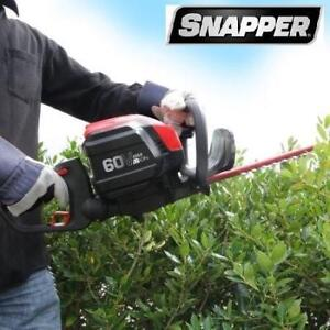 NEW* SNAPPER 60V HEDGE TRIMMER SH60V 189897955 W/BATTERY AND CHARGER