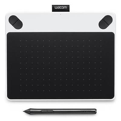 Wacom Intuos Draw Creative Pen Tablet, Small White #UCTL490DW