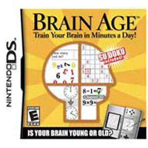 Brain Age: Train Your Brain in Minutes A Day [E] DS