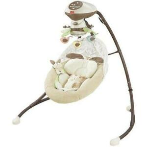 Like New Fisher Price My Little Snuga Bunny Cradle N Swing (pickup) pu2