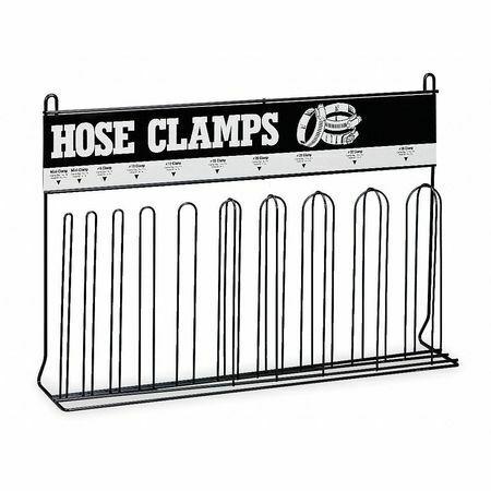 Durham Mfg 907-08-S129 Loop Hose Clamp Rack,Steel