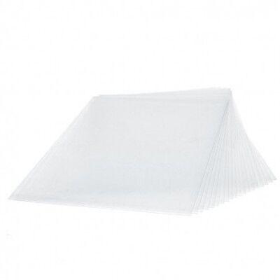 Schrumpffolie, mattiert, 20 x 30 cm, transparent z. B. für Schmuckherstellung