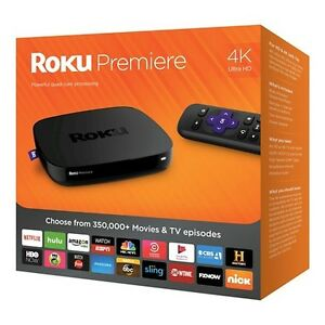 ROKU PREMIERE STREAMING PLAYER - 4K, QUAD CORE
