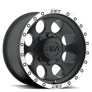 """Roues 17"""" M/T Classic Lock Noir Jeep Ford F150 Ram Mag Roue 17"""