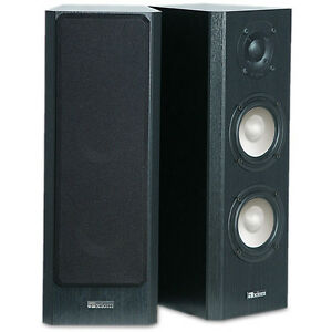 Axiom Audio Speakers and Polk Subwoofer for guitar