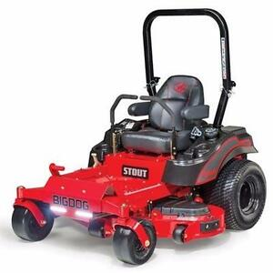 "** BigDog Stout Zero Turn 54"" deluxe Mower **"