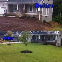 Old Sod Gone - New Sod in - $2.99 per SFT Everything Included