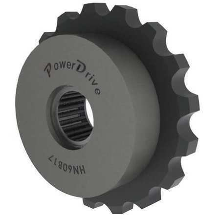 Power Drive Hn50b17 Idler Sprocket,Needle,Ansi 50