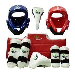 KARATE TAEKWONDO SPARRING GEAR SET STARTING FROM FREE SHIPPING OVER $50/