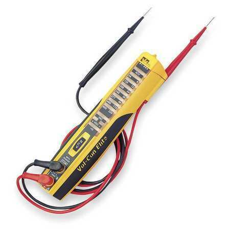Ideal 61-092 Voltage,Continuity Tester,600Vac