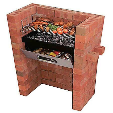 brick bbq grill barbecues ebay. Black Bedroom Furniture Sets. Home Design Ideas