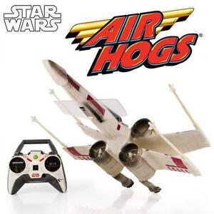 NEW AIR HOGS STAR WARS RC X WING REMOTE CONTROL X WING STARFIGHTER W/ 6 AA BATTERIES 110636393