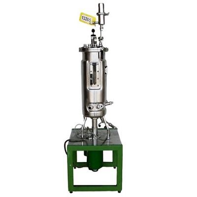 Used B. Braun Biotech Fermenter Stainless Steel Jacketed Pressure Vessel Reactor