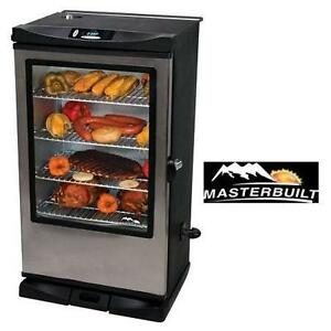 """NEW* MASTERBUILT 40"""" SMOKER - 118174425 - FRONT CONTROLLER W/ VIEWING WINDOW RF REMOTE CONTROL"""
