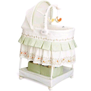 Baby Bassinet Sounds and Lights w/mobile $60 OBO