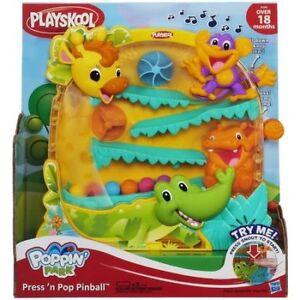 Playskool Poppin' Park Press 'n Pop Pinball Toy