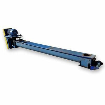 9 X 12 Long Used Screw Conveyor Auger - Carbon Steel