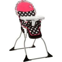 DISNEY MINNIE MOUSE SIMPLE FOLD HIGH CHAIR NEW IN BOX