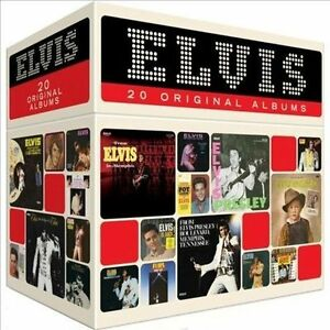 Elvis-Presley-20-Original-Albums-Perfect-Collection-20-CD-Set-NEW-Free