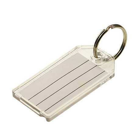 Lucky Line Products 2041020 Key Tag,Split Ring,Pk20