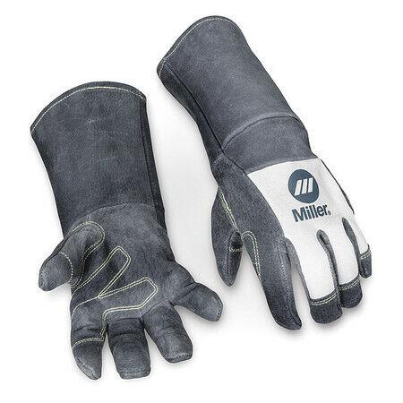 Miller Electric 279875 Mig Welding Gloves, Pigskin Palm, L, Pr
