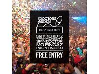 TDO @ Pop Brixton - Free Entry - Hip-Hop, Soul, Disco, House, Garage & More