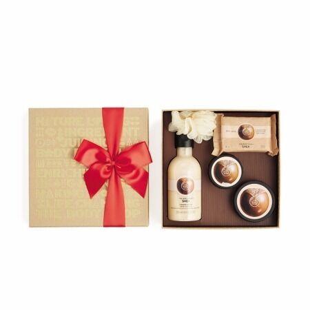 Body shop festive pack christmas 2016- Shea and Fuji green tea available.