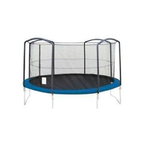 15ft Round Trampoline Net Using 8 Poles or 4 Arches