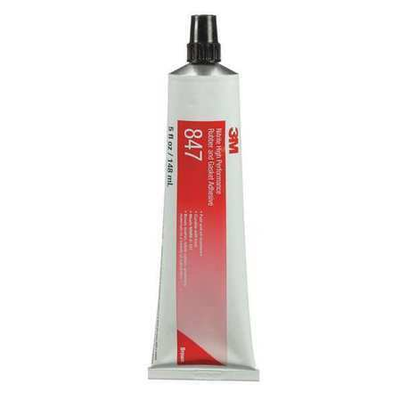 3M 847 5 oz. Brown Rubber and Gasket Adhesive