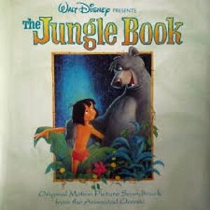 The Jungle Book (animated classic) Original Motion Picture CD