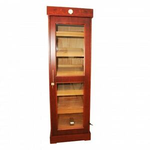 HUGE 3000 Tower Cabinet cigar humidor with electronic humidifier