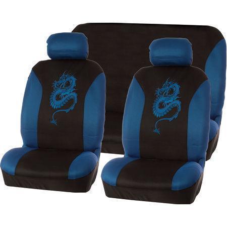Blue Car Seat Cover Set Ebay