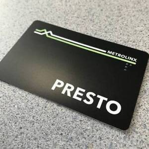 unregistered presto card for sale.CHEAP!!!!