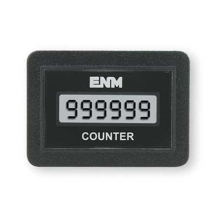 Enm C1141bb Electronic Counter,6 Digits,Lcd
