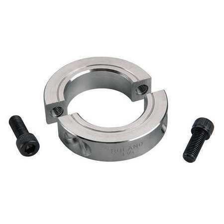 Ruland Manufacturing Sp-25-A Shaft Collar,Clamp,2Pc,1-9/16 In,Alum