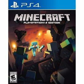PS4 GAME / MINDCRAFT / GOOD AS NEW / FOR SALE OR SWAPS