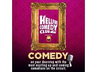 Hellfire Comedy Club on February 23, 2017