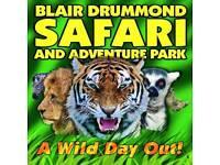 ** Blair drummond safari park tickets **