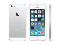 iPhone 5 64gb silver/gold unlocked