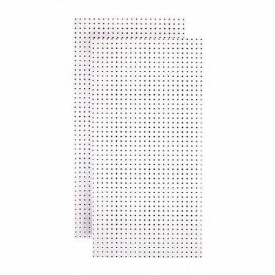 Tempered Wood Pegboard Tpb-2w Pegboardswhite48 In. H24 In. Wpk2