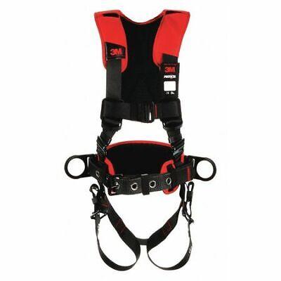 3m Protecta 1161205 Full Body Harness Vest Style Ml Polyester Black