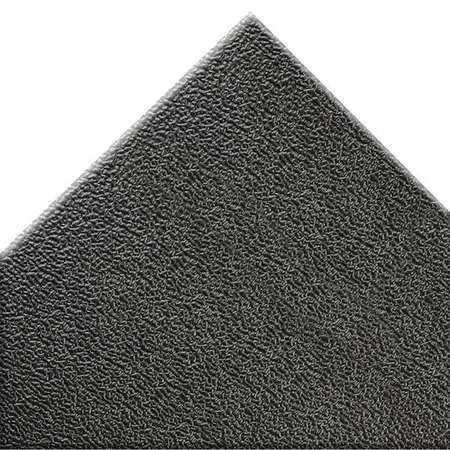 NOTRAX 415S0035BL Black Antifatigue Mat 3 ft W x 5 ft L, 3/8 in, PVC Foam
