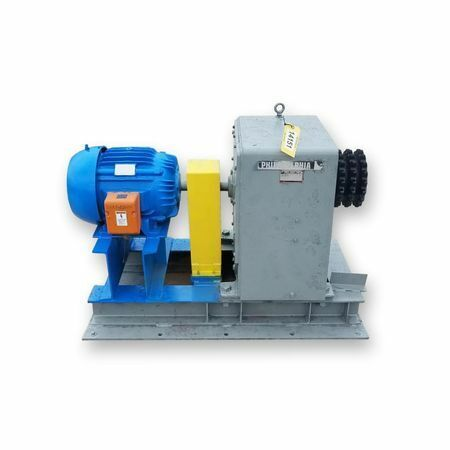 Used 25 HP Philadelphia 9HL3 Gear reducer Gearmotor Drive [ 70.6:1 ratio]